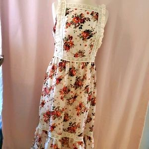 Asos NWT flower dress sz 8 [844]